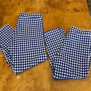 Crewcuts girls leggings party of 2! Size 7&8